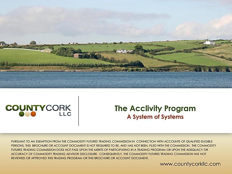 County Cork Acclivity Program - Investor Presentation