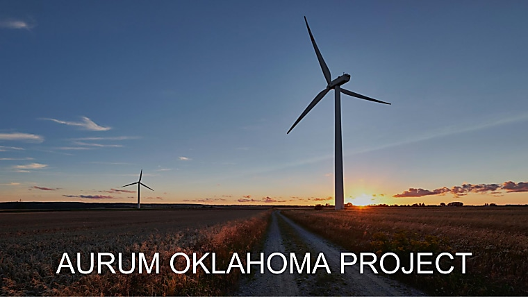 Aurum Oklahoma Project - Investor Pitch Book