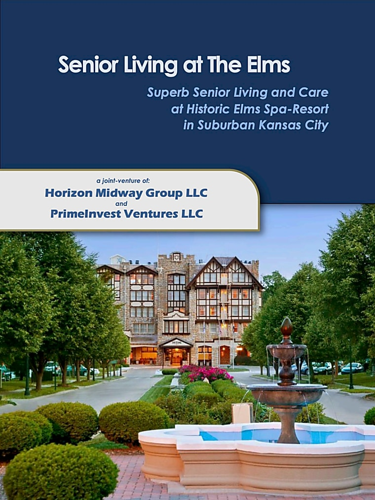 Senior Living At The Elms - Suburban Kansas City - Investor Presentation
