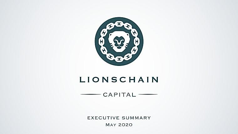 Lionschain Capital LLC - Investor Pitch Book