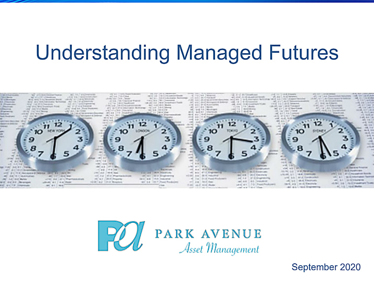 Understanding Managed Futures