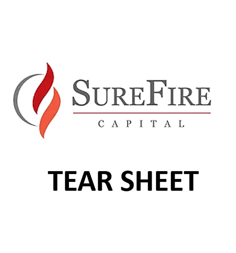 SureFire Multi-Strat, LP - Firm Tear Sheet