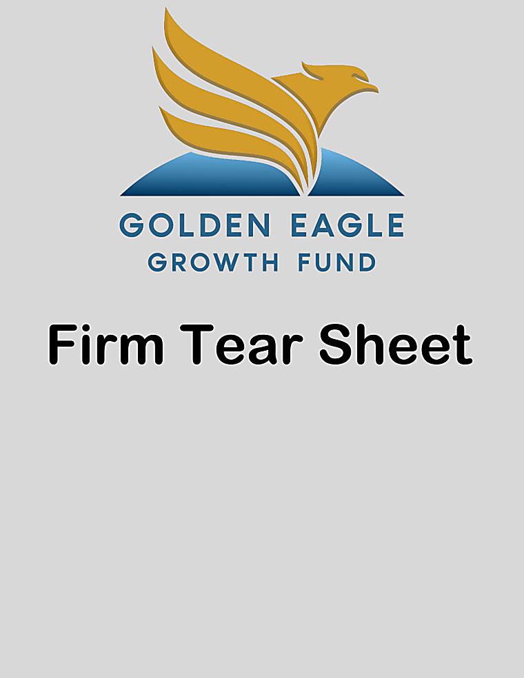 Golden Eagle Growth Fund - Firm Tear Sheet April 2021
