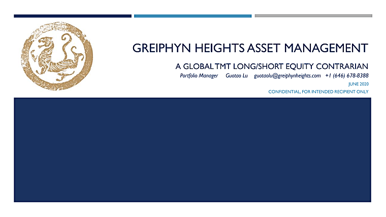 Greiphyn Heights Partners LP - Investor Pitch Book