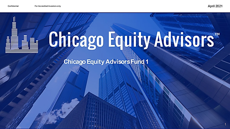 Chicago Equity Advisors Fund 1 Deck