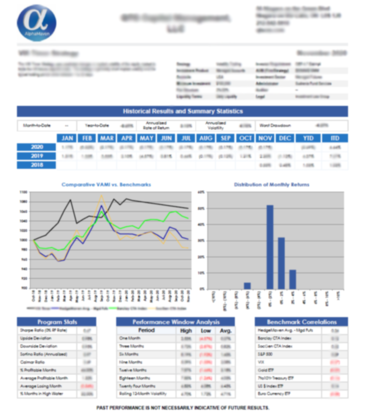 AlphaMaven Investment Report
