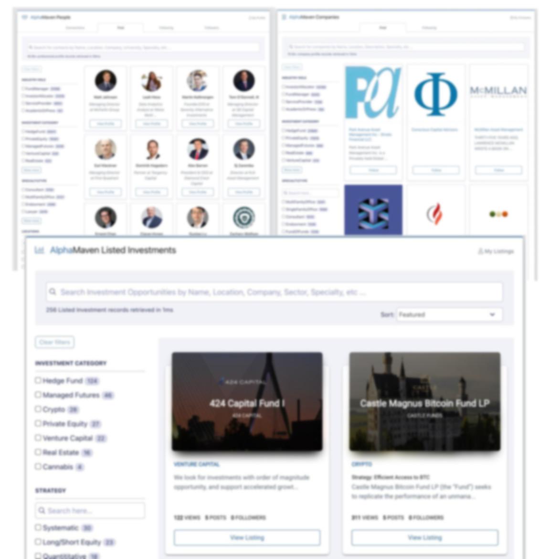 AlphaMaven Hedge Fund Profile Search