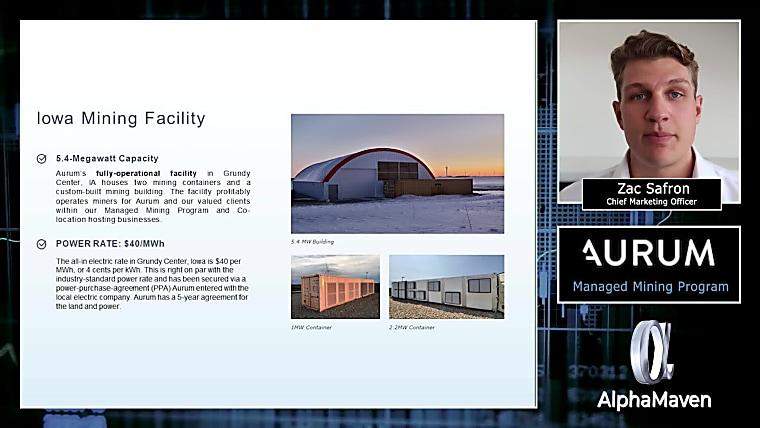 Managed Mining Program - Video PitchBook