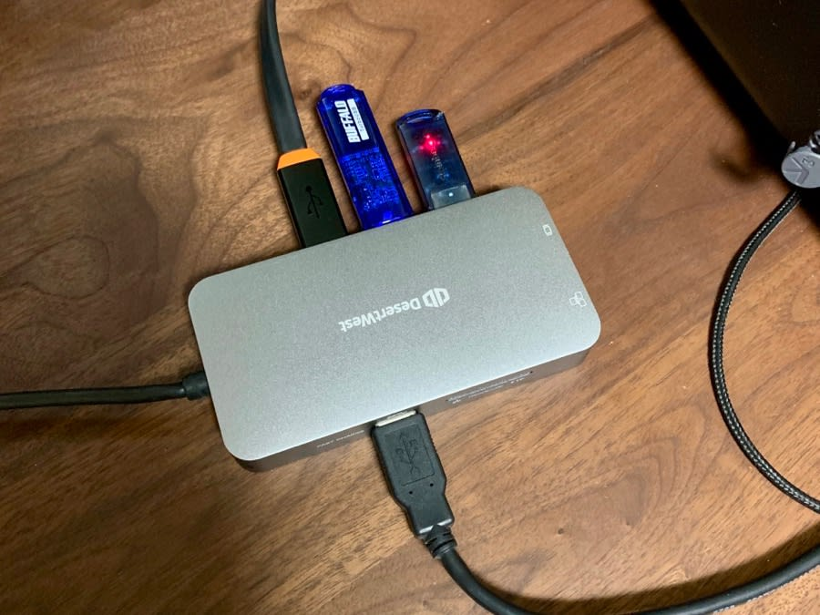 USB Cハブ