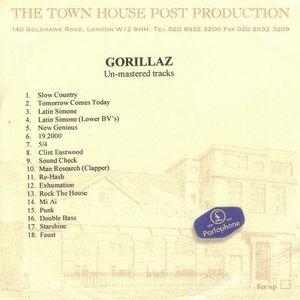 1 Lyrics From Un Mastered Tracks By Gorillaz Lyricsfever Net