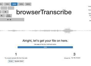 browserTranscribe