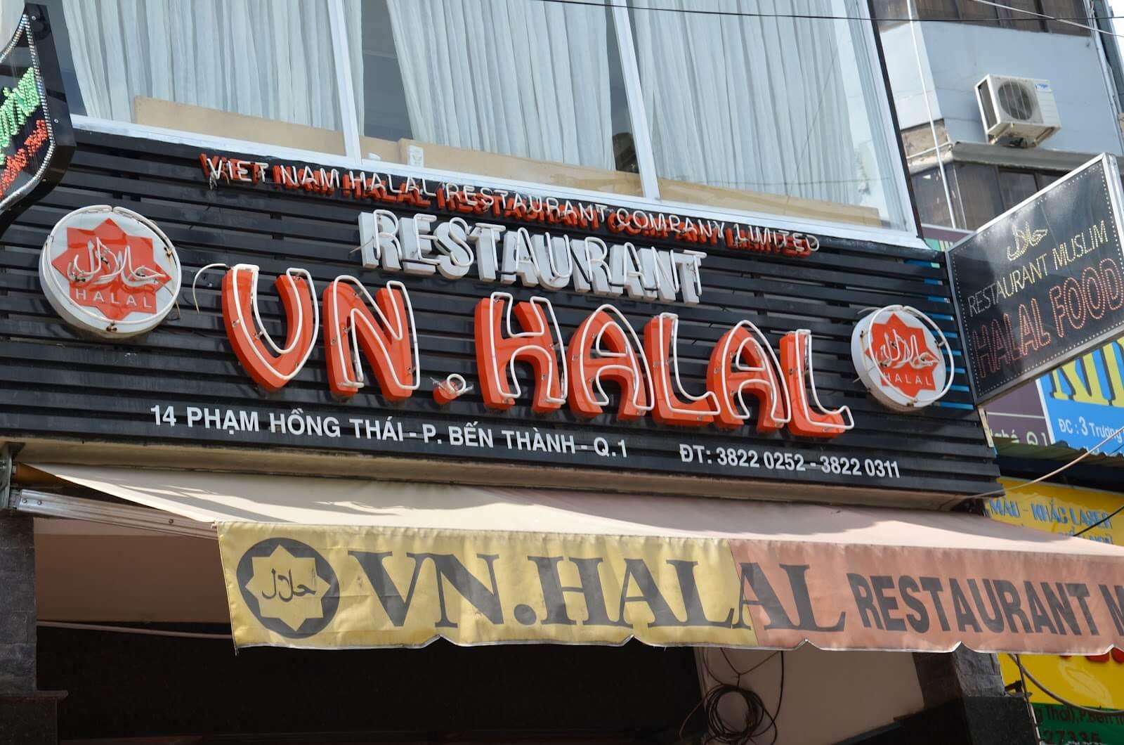 Halal Food Vietnam VN Restaurant