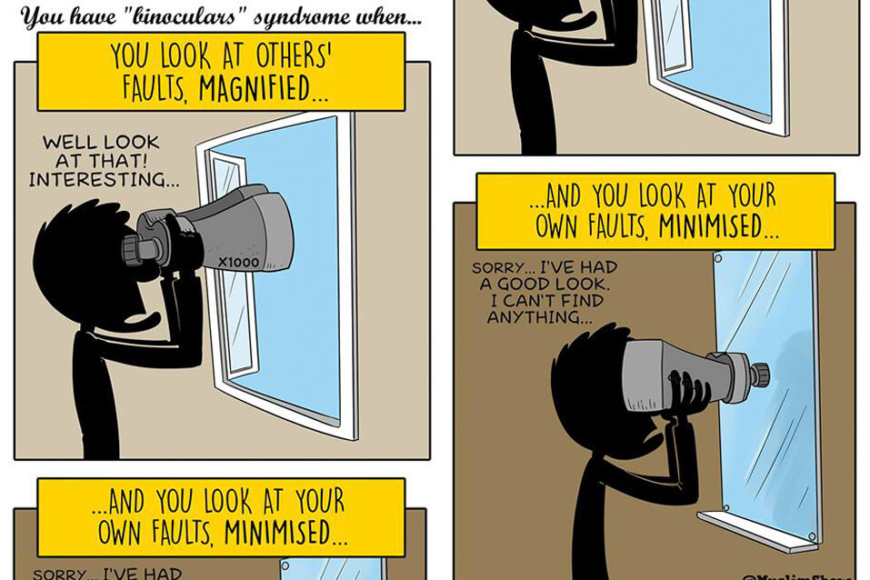 Do you have Binoculars Syndrome?