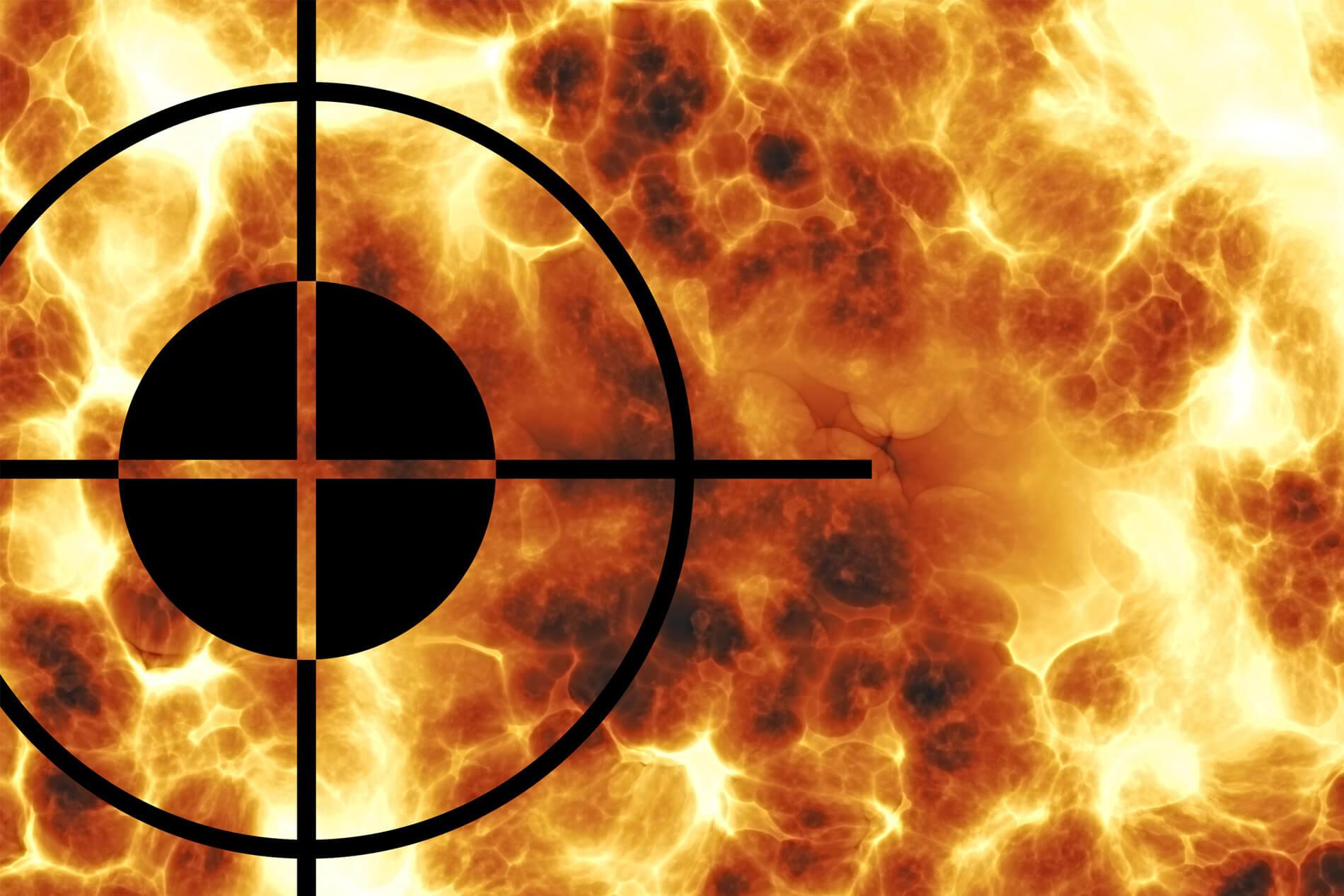 Muslims target of terror