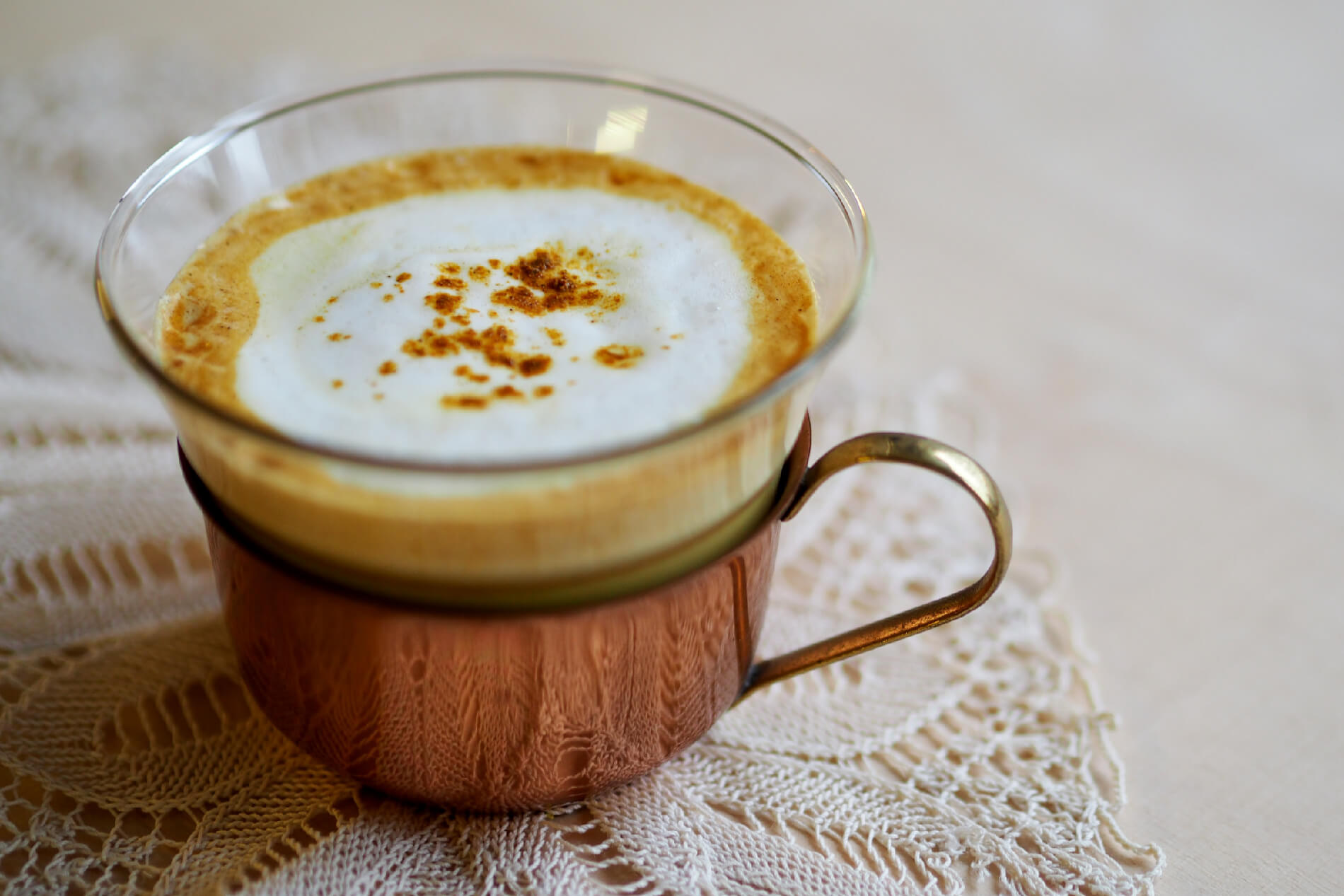Golden Milk Tumeric Curcuma Latte