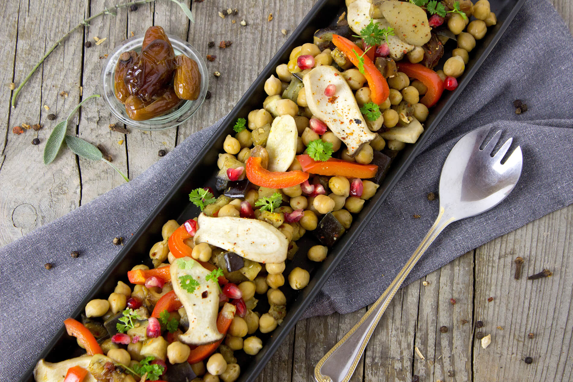 Chickpeas a good source of protein