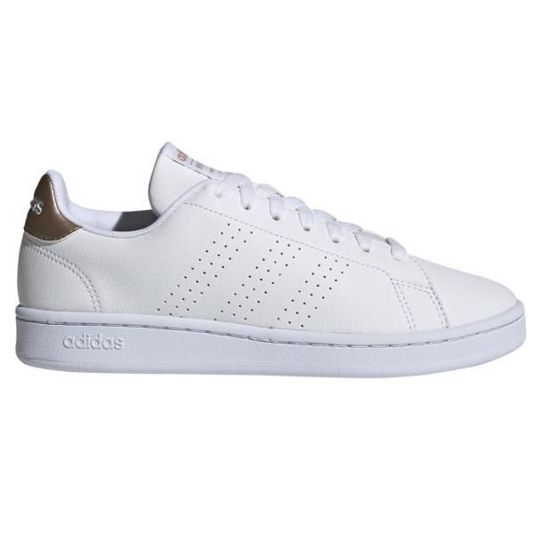 Adidas Advantage - Womens Sneakers - White/Copper Metallic
