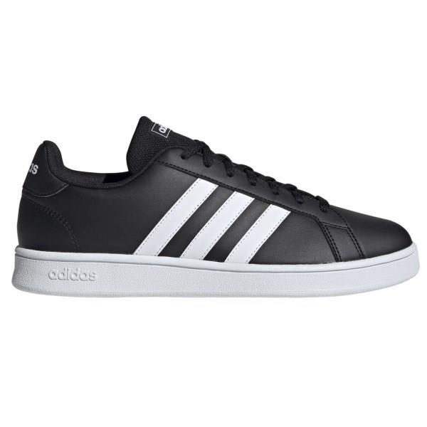 Adidas Grand Court Base - Mens Sneakers - Core Black/White