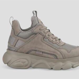 Buffalo Buffalo Womens CLD Chai Sneaker Grey