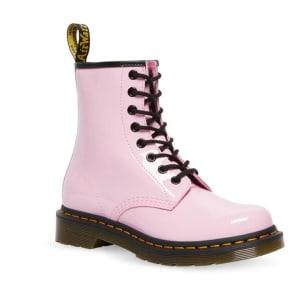 Dr Martens Dr Martens 1460 Patent Leather Boot Pale Pink Patent Lamper