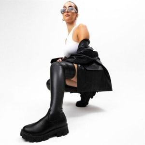 ITNO ITNO Womens Lexi Boot Stretch Black