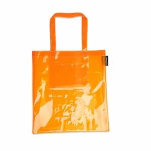 Platypus Platypus Platypus PVC Tote Bag Orange