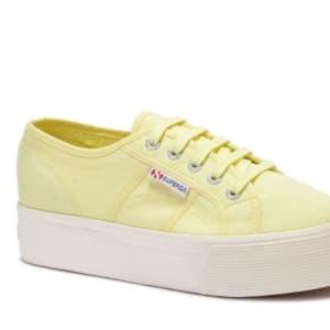 Superga Superga Womens 2790 ACOTW A4N Yellow Lt - Off White