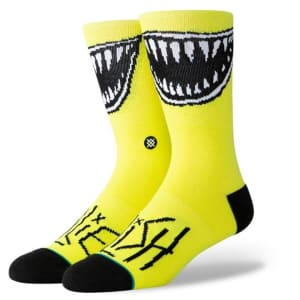 Stance Stance Grin Neon Yellow