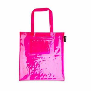Platypus Platypus Platypus PVC Tote Bag Pink