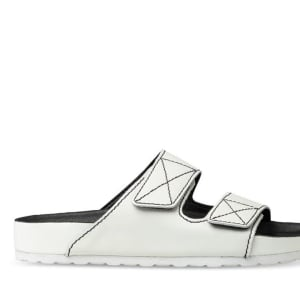 ITNO ITNO Womens Toni Sandal White Leather