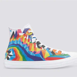 Converse Converse Chuck Taylor All Star Find Your Pride High White