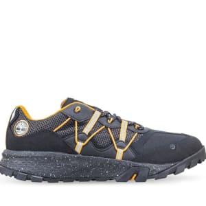 Timberland Timberland Men's Garrison Trail Hiking Sneakers Black Orange