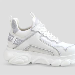 Buffalo Buffalo Womens CLD Chai Sneaker White
