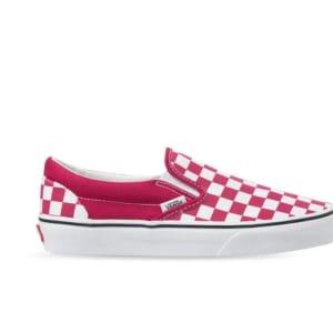 Vans Vans Checkerboard Classic Slip-On Cerise