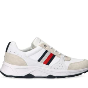 Tommy Hilfiger Tommy Hilfiger Mens Chunky Sole Runner White