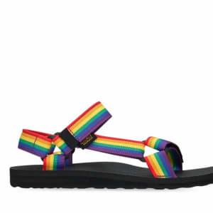 Teva Teva Womens Original Universal Rainbow Pride Rainbow