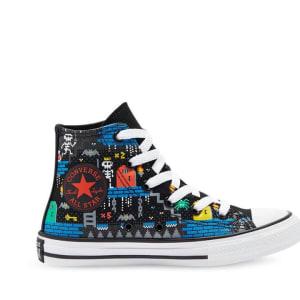 Converse Converse Kids Chuck Taylor All Star Hi Gamer Black