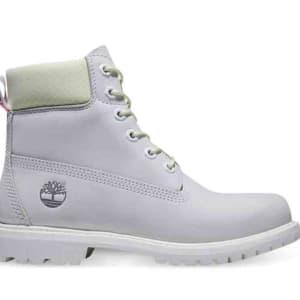 Timberland Timberland Women's Timberland Premium 6-Inch WP Boots Bright White Waterbuck