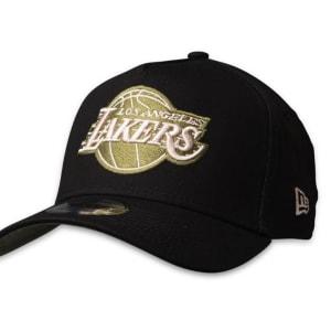 New Era New Era 9FORTY LA Lakers Cap Black