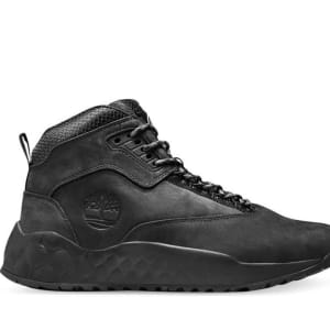 Timberland Timberland Men's Solar Wave Leather Sneaker Boots Blood