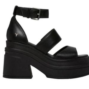 Windsor Smith Windsor Smith Womens Match Sandal Black Leather