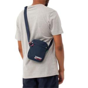 Tommy Hilfiger Tommy Hilfiger Mens Campus Messenger Bag Twilight Navy