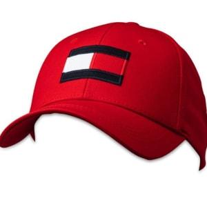 Tommy Hilfiger Tommy Hilfiger Big Flag Cap Primary Red