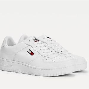 Tommy Hilfiger Tommy Hilfiger Mens Mono Colour Cupsole Sneaker White