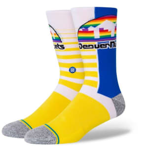 Stance Stance Denver Nuggets Gradient Yellow