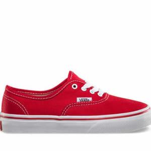 Vans Vans Kids Authentic Red