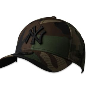 New Era New Era 9FortyCS NY Yankees Cap Woodland Camo