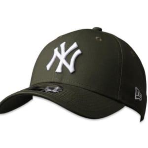 New Era New Era 9FortyCS NY Yankees Cap New Olive