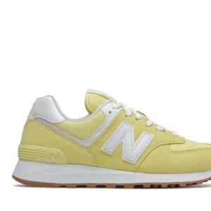 New Balance New Balance Womens 574 Yellow (720)