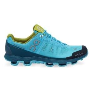 On Cloudventure - Womens Trail Running Shoes - Horizon/Sulphur